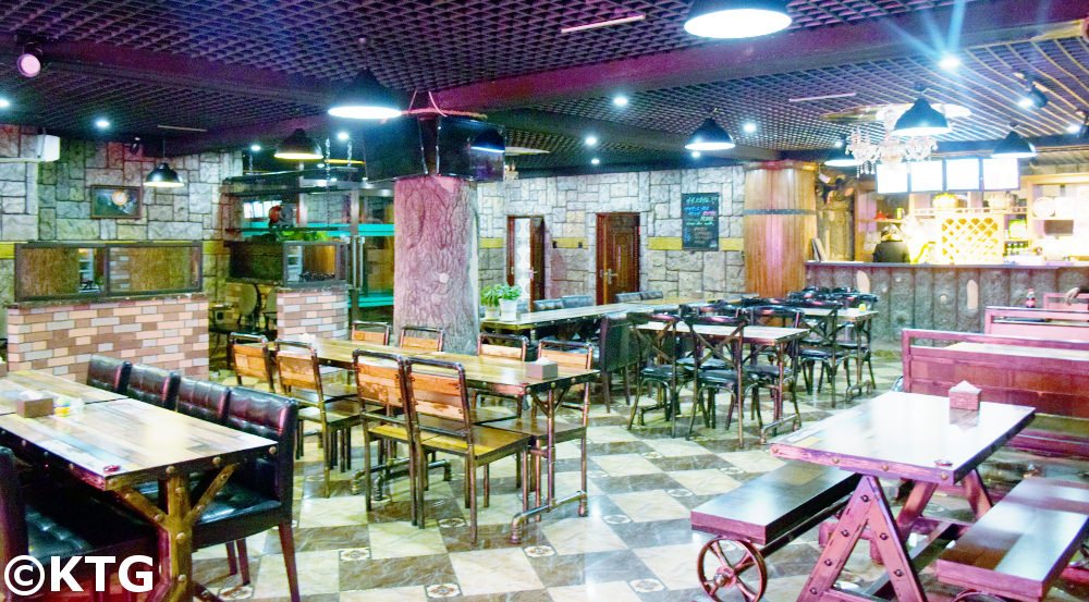 Czech Beer Bar in Rajin, Rason a special economic zone in the DPRK i.e. North Korea. Picture taken by KTG Tours