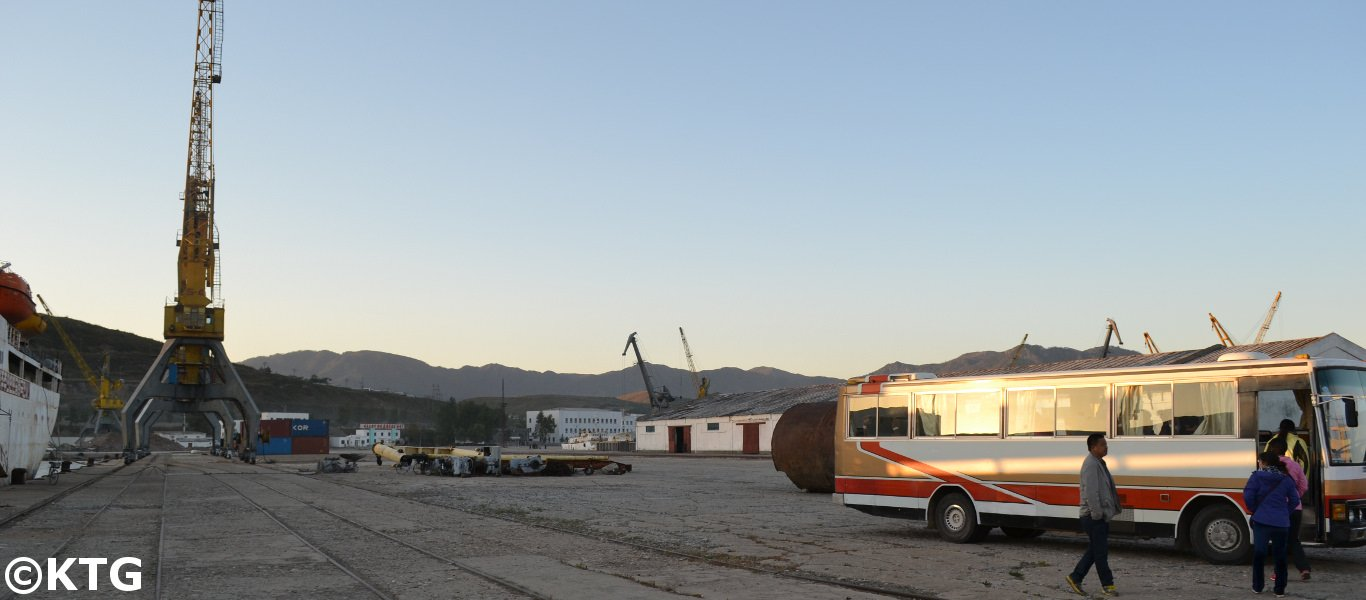 Rajin Port in North Korea