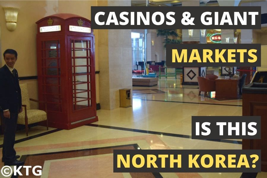 Imperial Hotel and Casino in Rason, Special Economic Zone in North Korea, DPRK. Trip arranged by KTG Tours