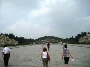 Cementerio de los Martires Revolucionarios en Corea del Norte