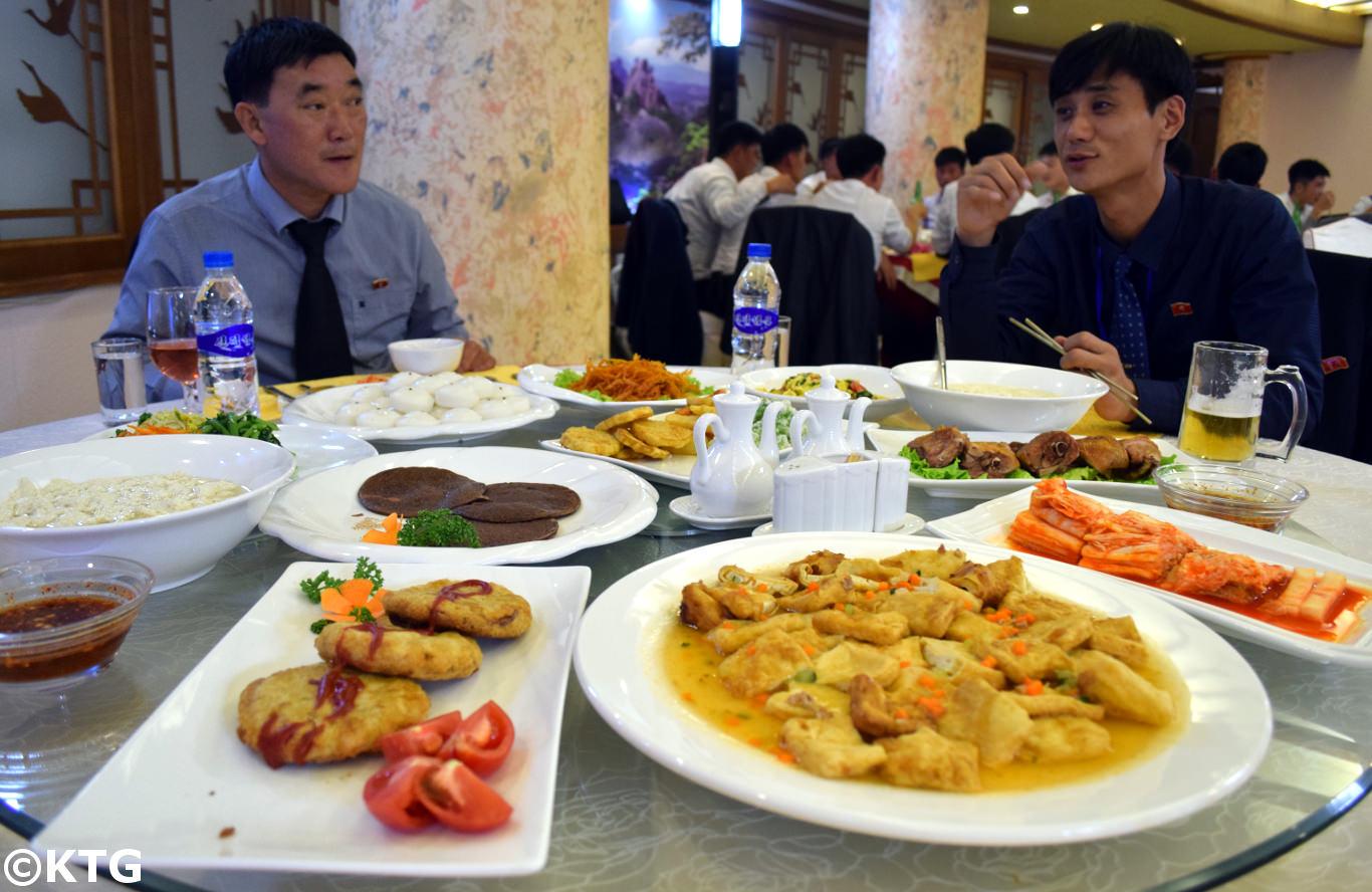 Ryomyong restaurant, Pyongyang