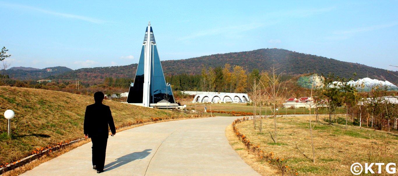 El Hotel Ryugyong en mini Pyongyang con KTG Tours