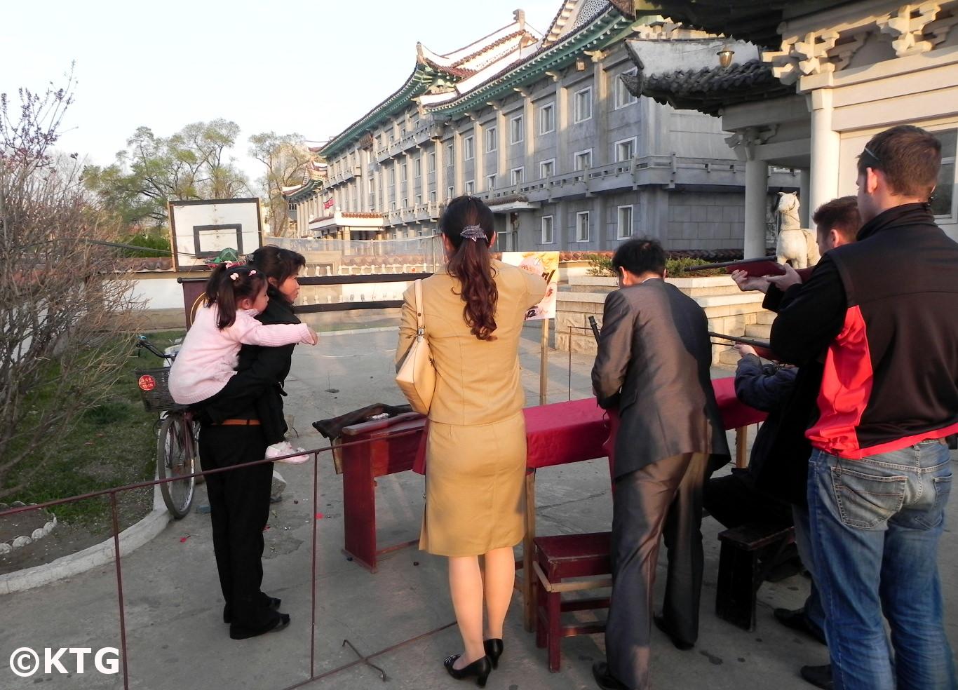 Games in Sariwon, North Korea