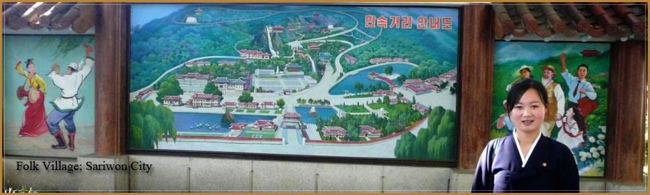 Sariwon Folk Village, Észak-Korea