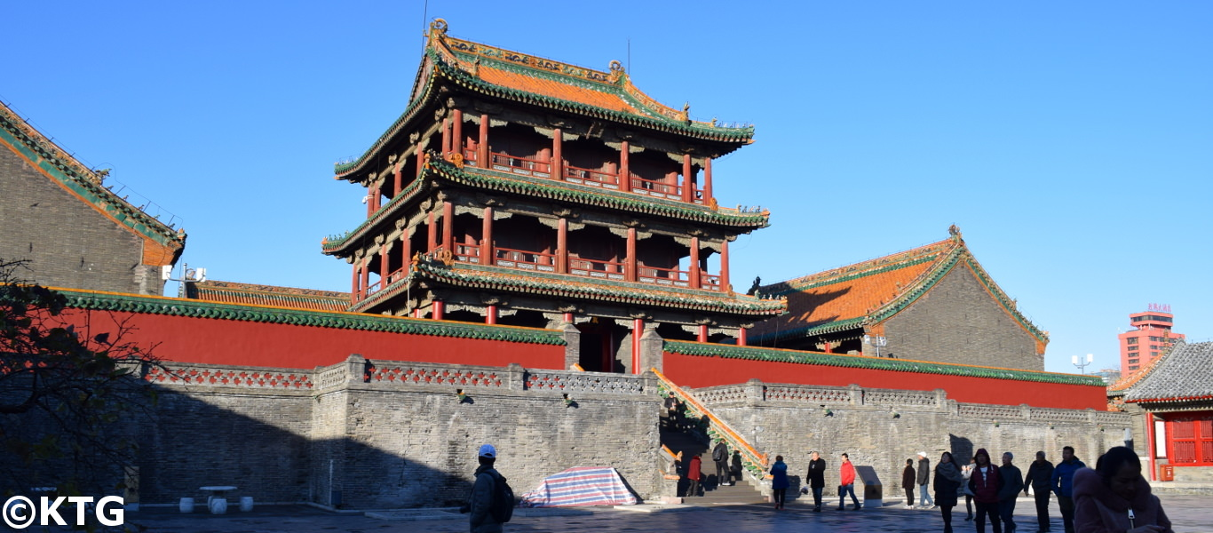 Imperial Palace in Shenyang. This was built by the Qing Dynasty in 1625