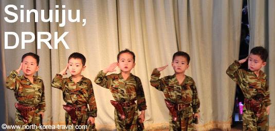 Ponbu Kindergarten in Sinuiju, North Korea (DPRK)
