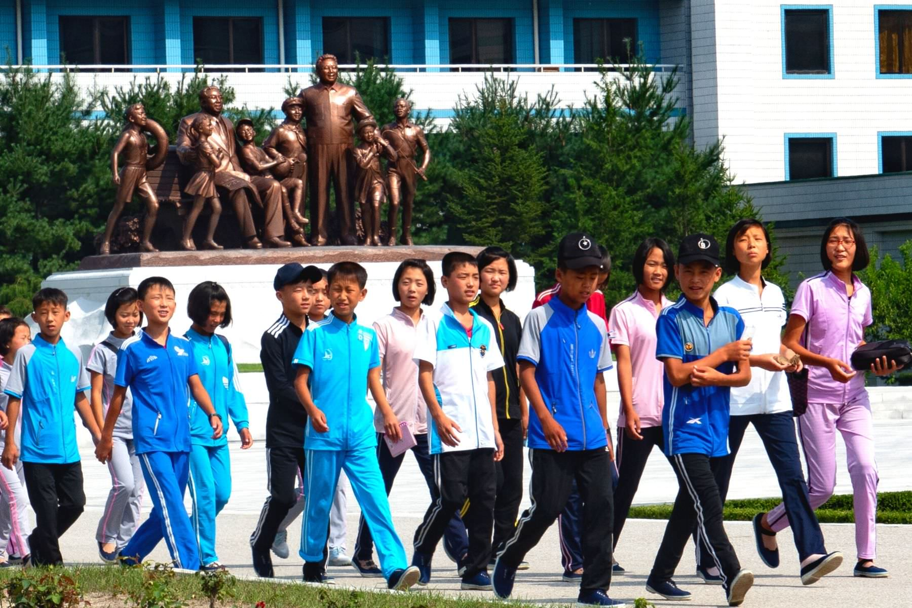 Songdowon Children's Camp in Wonsan, North Korea (DPRK) with KTG Tours
