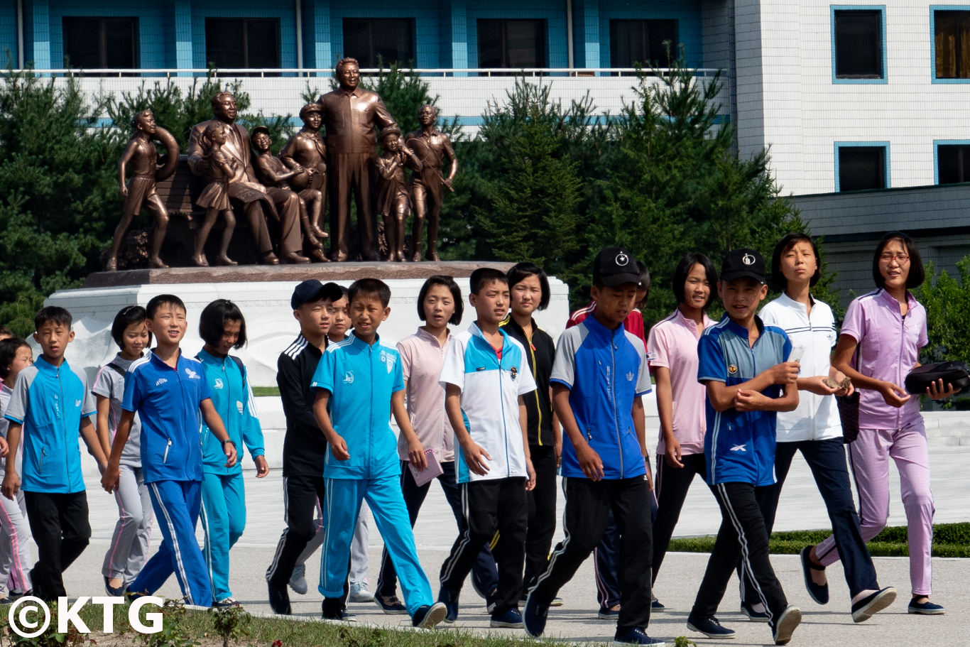 Songdowon Summer Camp in Wonsan, North Korea (DPRK). Trip arranged by KTG Tours
