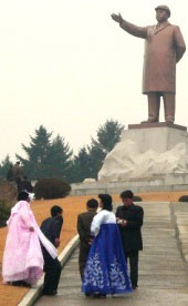 Marriage in Hamhung, Norrh Korea