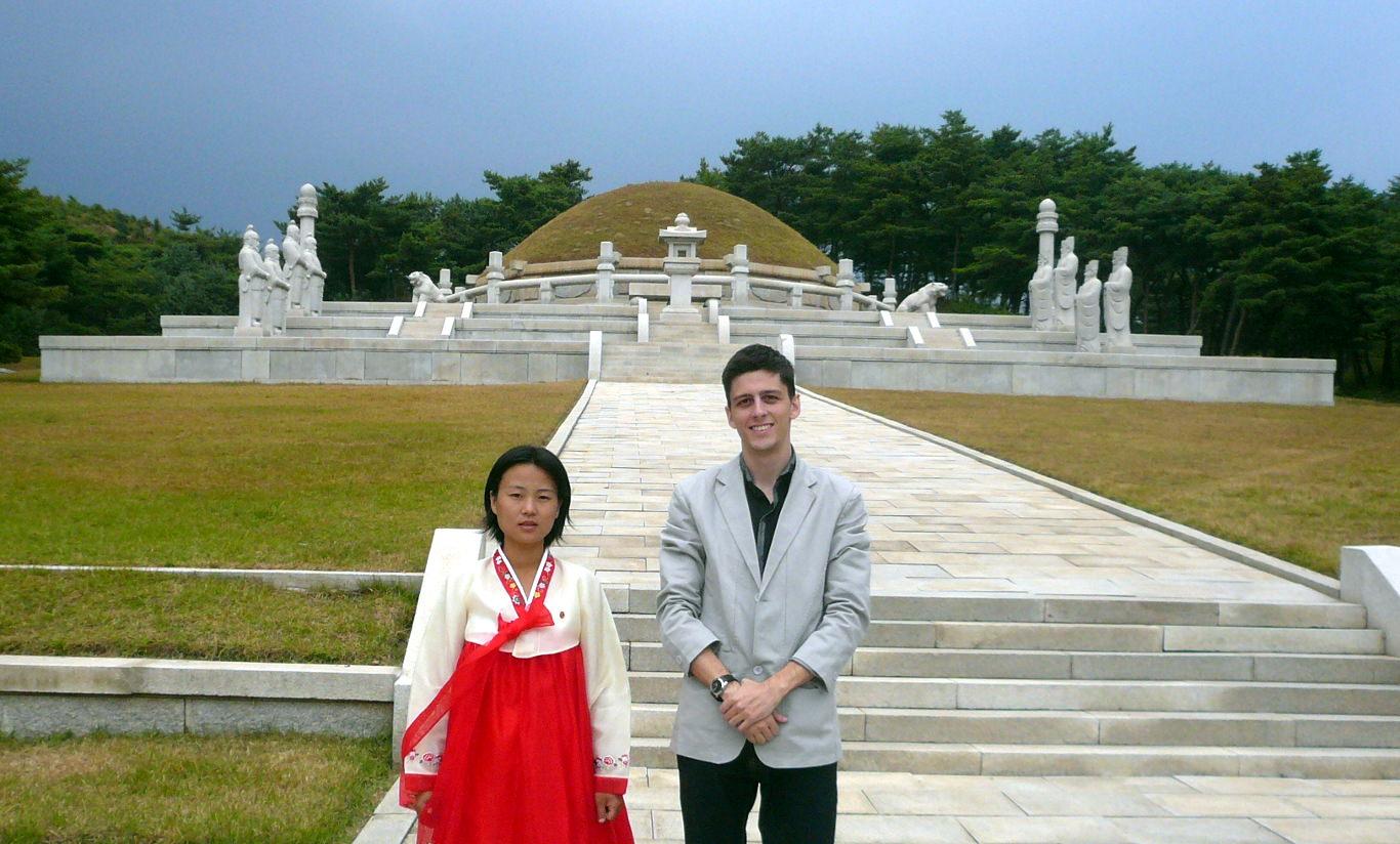 Tomb of King Wang Kon in Kaesong, North Korea (DPRK)