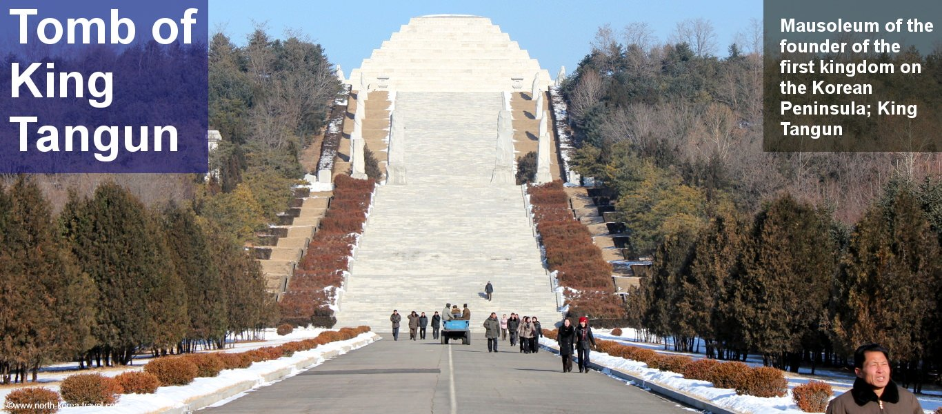 Tomb of King Tangun aka King Dangun in the outskirts of Pyongyang, North Korea