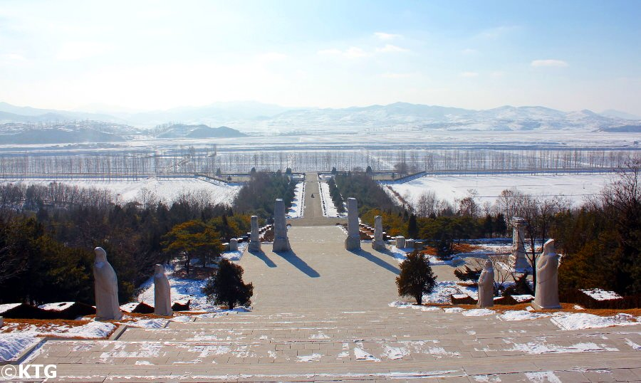Grab von König Dangun in Nordkorea