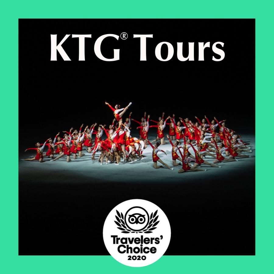 Tripadvisor travelers choice 2020 KTG Tours