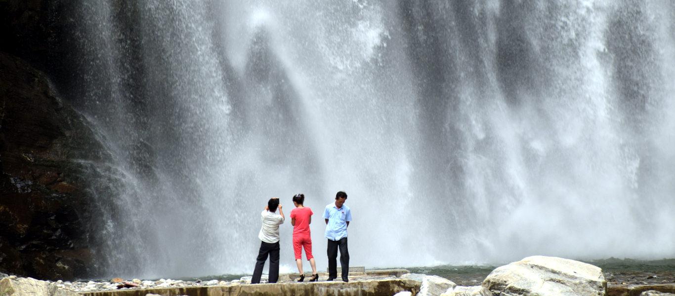 Ullim Waterfalls, North Korea (DPRK)