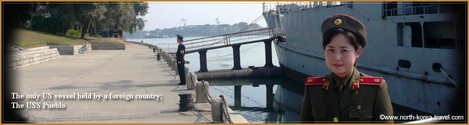 USS Pueblo, Pyongyang