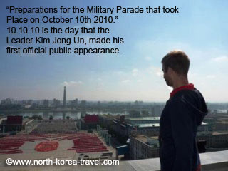 Preparations for Military March in Pyongyang