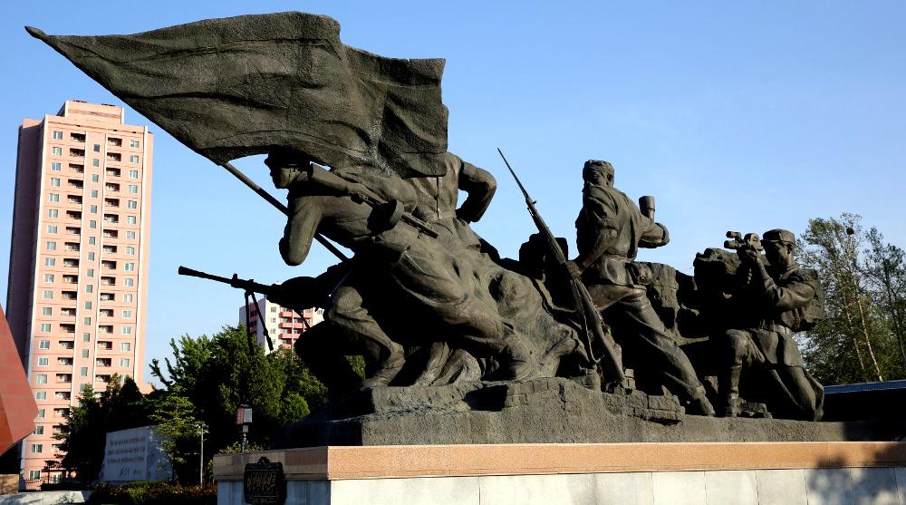 Korean War Museum in Pyongyang, DPRK (North Korea)