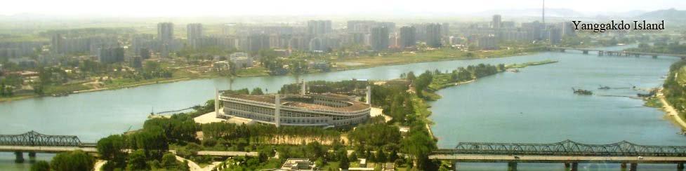 Islote Yanggakdo en Pyongyang