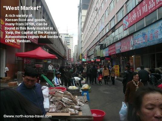 Yanji China, West Market
