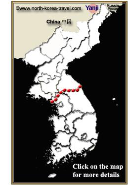 Map of Yanji China