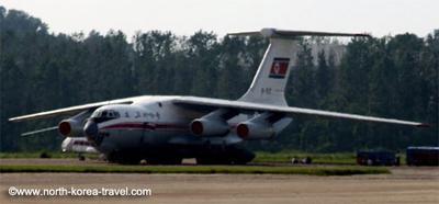 Air Koryo plane