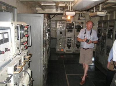 USS Pueblo spy ship communication centre