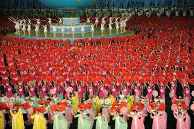 Mass Games, Corea del Norte